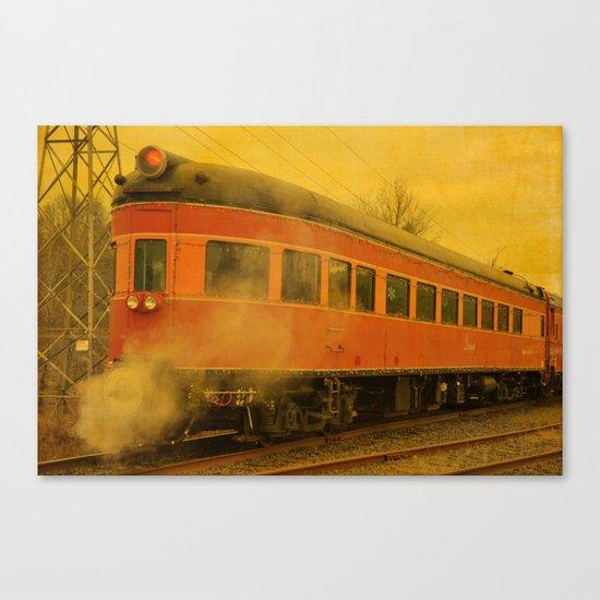 CHRISTMAS STEAM TRAIN Canvas Print