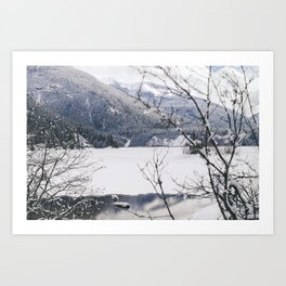 Three Valley Gap Art Print