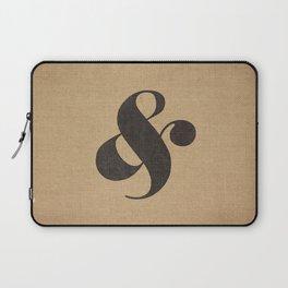 Elephant Italic Ampersand Laptop Sleeve