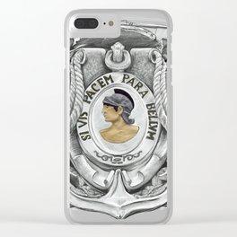 SI VIS PACEM PARA BELLUM Clear iPhone Case