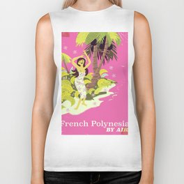 French Polynesia by air Biker Tank