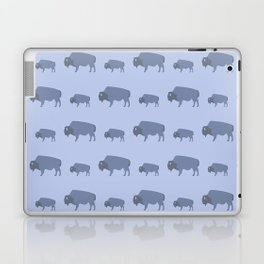 Bison And Baby (Tide) Laptop & iPad Skin