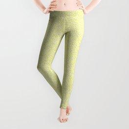Yellow plaster texture Leggings