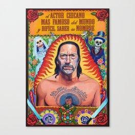 Danny Machete Trejo Canvas Print