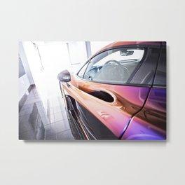 McLaren P1 - Cerberus Pearl - Driver Side Metal Print