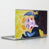 warrior Laptop & iPad Skins featuring Warrior by Ma. Luisa Gonzaga