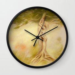 Mystic Tree - Symbolism Wall Clock