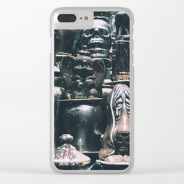 Eclectic Pottery Clear iPhone Case