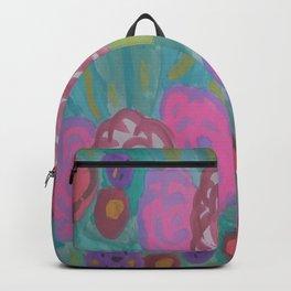 Bohemian Flower Garden Backpack