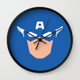 Superhero America Captain Wall Clock