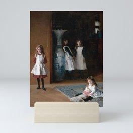 John Singer Sargent The Daughters of Edward Darley Boit 1882 Mini Art Print
