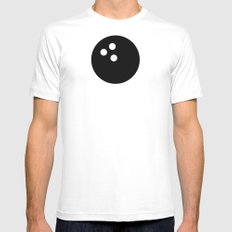 Bowling - Balls Serie Mens Fitted Tee White MEDIUM