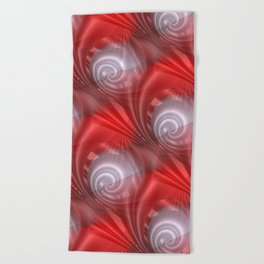time for abstraction -1- Beach Towel