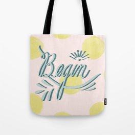 Begin Tote Bag