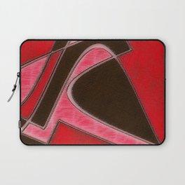 Red Denim Sampler Laptop Sleeve