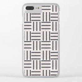 AFE Basket Weave2 Clear iPhone Case