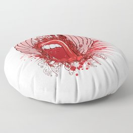 Loud Mouth Floor Pillow
