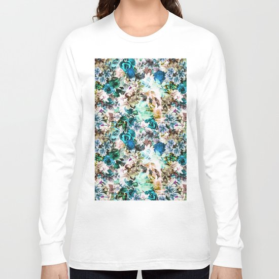 Floral Pattern V2 Long Sleeve T-shirt