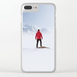 Portal to the Summit Clear iPhone Case