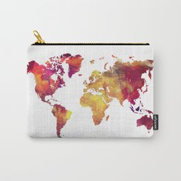 World Map after nuclear war Carry-All Pouch