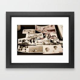 PHOTOS Framed Art Print