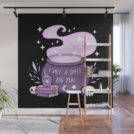 Witch Cauldron Wall Mural