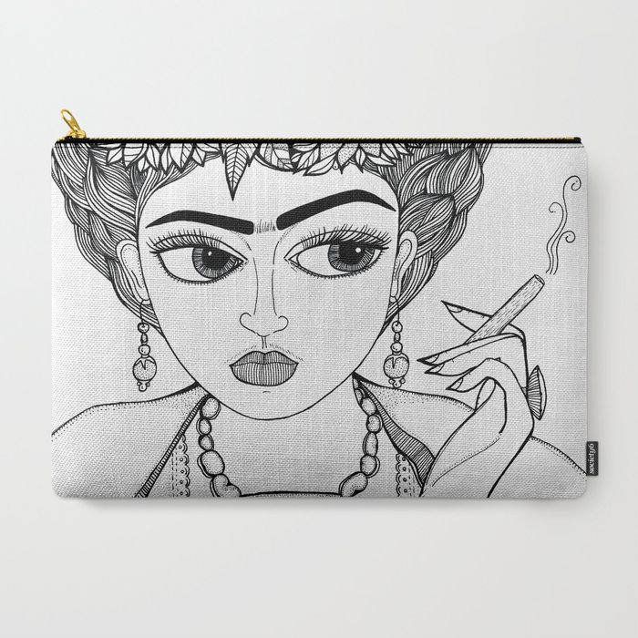 Ode_to_Frida_CarryAll_Pouch_by_Jody_Pham__Large_125_x_85