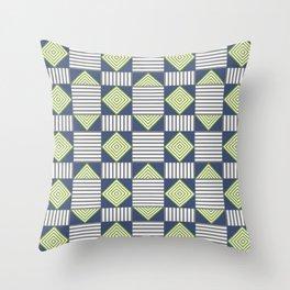 Angle Crazed Throw Pillow