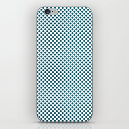 Ocean Depths Polka Dots iPhone Skin