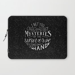 All of the Mysteries of the Universe Laptop Sleeve