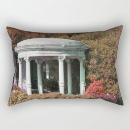 Observatory in the woods Rectangular Pillow