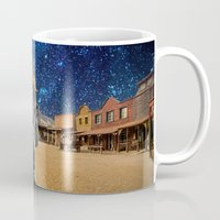 western Mugs featuring Western by Cs025