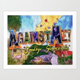 """Goodbye Gainesville"" by Cap Blackard Art Print"
