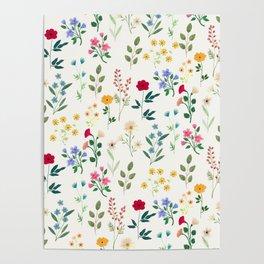 Spring Botanicals Poster