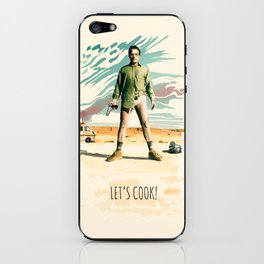 Walter White Heisenberg in Underwear Breaking Bad iPhone Skin