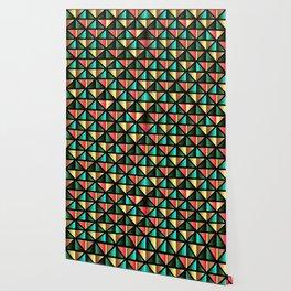 Emerald triangles Wallpaper
