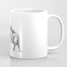 Elephant and Woman Coffee Mug