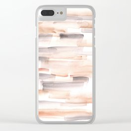 170527 Back to Basic Pastel Watercolour 7 |Modern Watercolor Art | Abstract Watercolors Clear iPhone Case