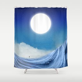 To dust Shower Curtain