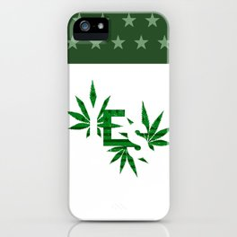 Yes to Cannabis Legalization iPhone Case