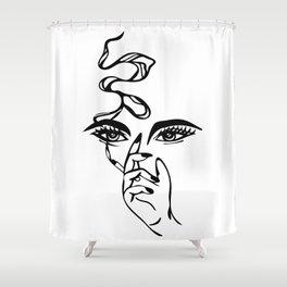 smoke 'em Shower Curtain