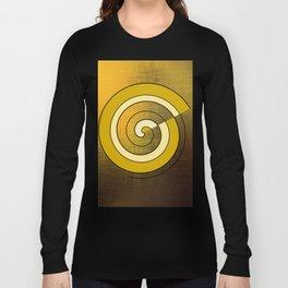 Golden Spiral Long Sleeve T-shirt