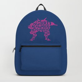 Dva type illustration Backpack