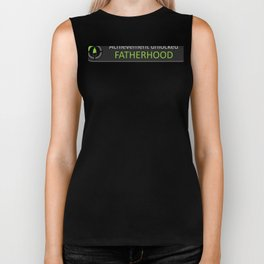 Mens First Time Dad Achievement - Gamer Father - Expecting Father Biker Tank