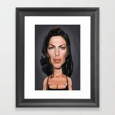 Claudia Black Framed Art Print