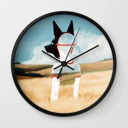 Wild Youth Wall Clock