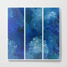 Blue Lake Trio Metal Print