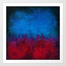 Connemara Rainstorm Art Print
