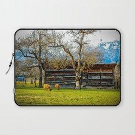 Peaceful Spring Meadow Laptop Sleeve