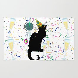 Chat Noir  Party Countdown Rug